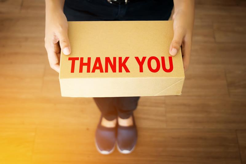 ありがとうを伝える! 「THANKS GIFT」で社内コミュニケーションを活性化