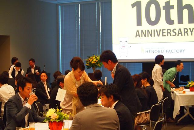 ヘノブファクトリー様 創立10周年イベント