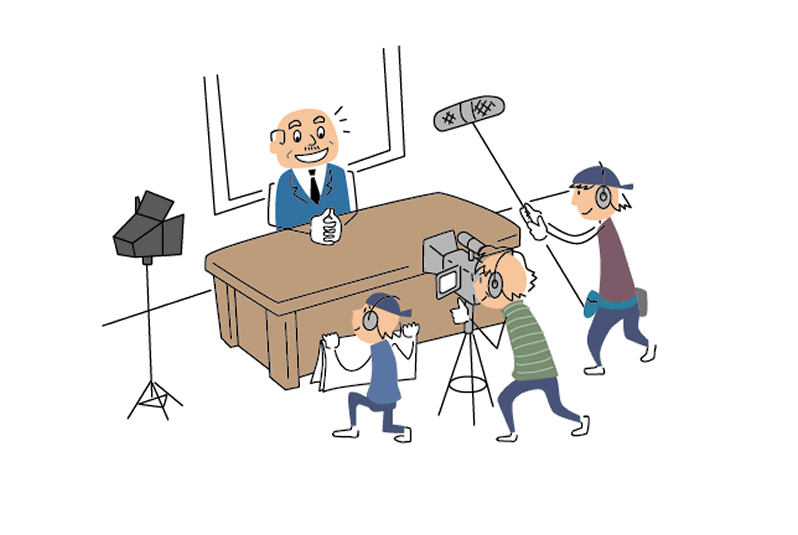 展示会・説明会・商品紹介などで使える動画制作依頼の流れ